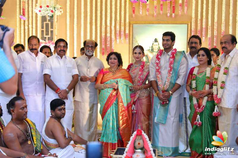 Soundarya Rajinikanth, Vishagan Wedding