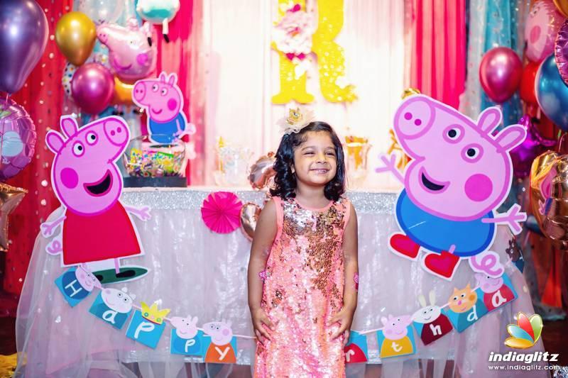 Sridevi Vijaykumar Rahul's Daughter Rupikaa 3rd Birthday Celebrathions