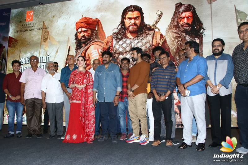 'Sye Raa Narasimha Reddy' Movie Press Meet