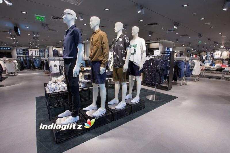 Rana Daggubati and Tamannah at the launch of H&M Store in Hyderabad