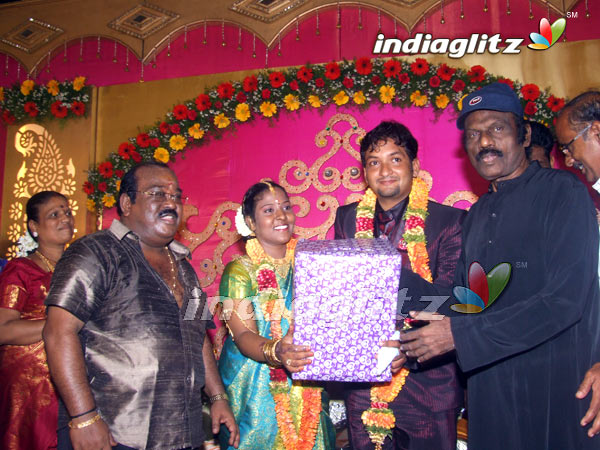TP Gajendran's Daughter's Reception
