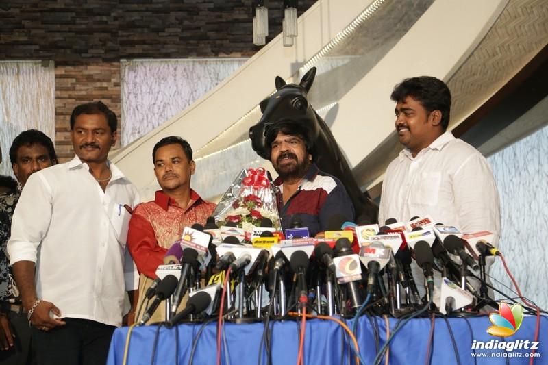 T Rajendhar Meets The Press