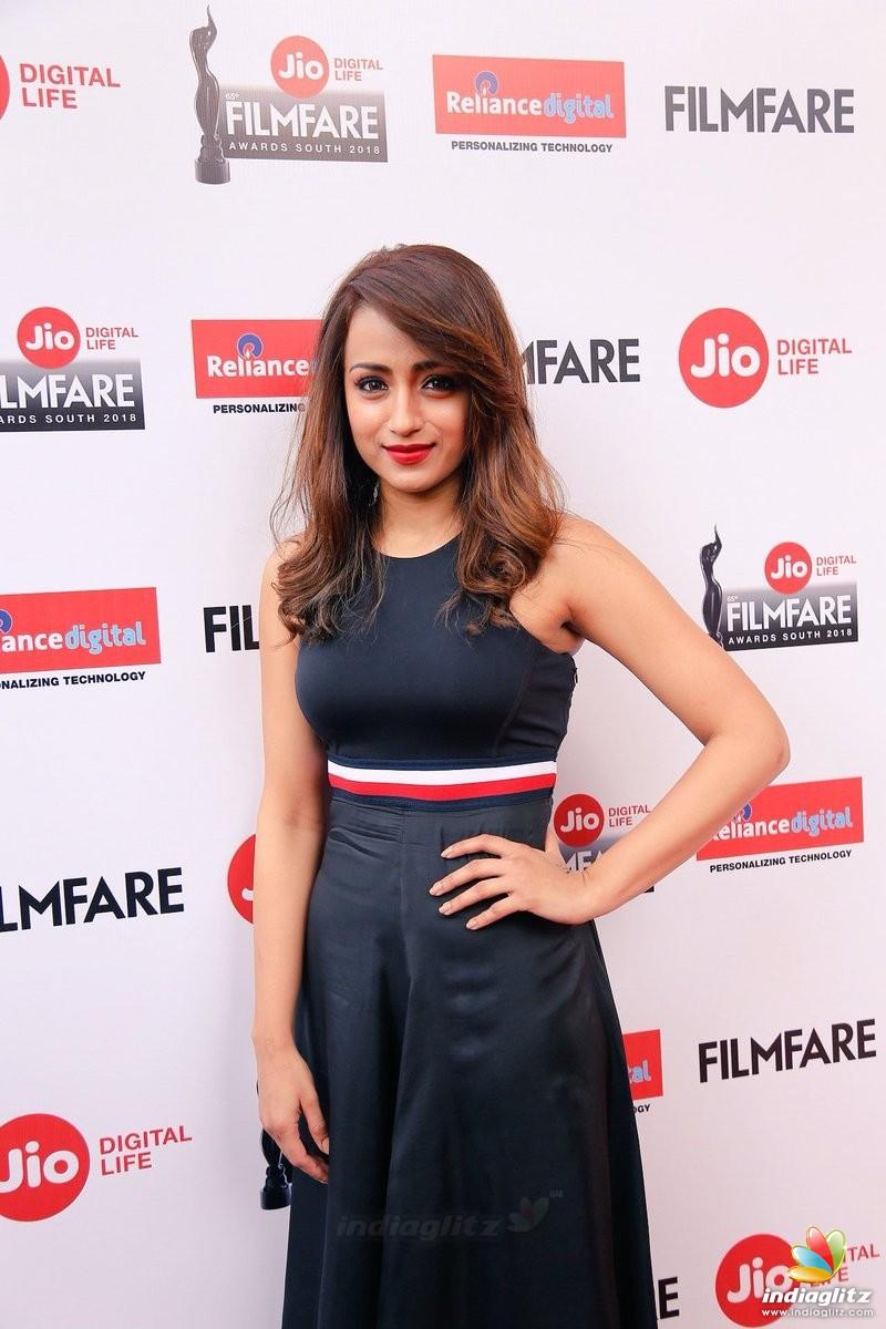 Events - Trisha at Jio 65th Filmfare Awards South Movie