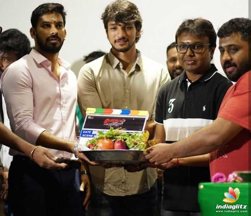 'Theemaithan Vellum' Movie Pooja