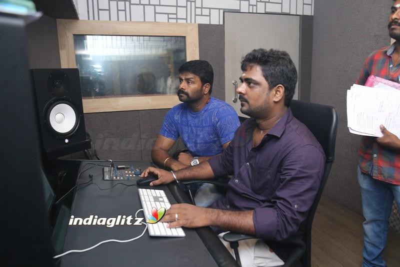 Udhayanidhi Stalin - Manjima Mohan untitled Movie Dubbing Pooja