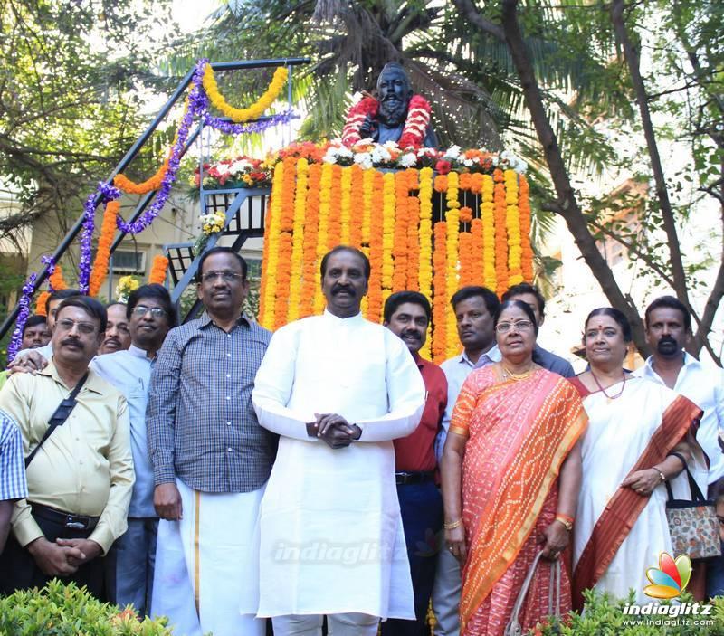 Kaviperarasu Vairamuthu Celebrate Thiruvalluvar Thirunal