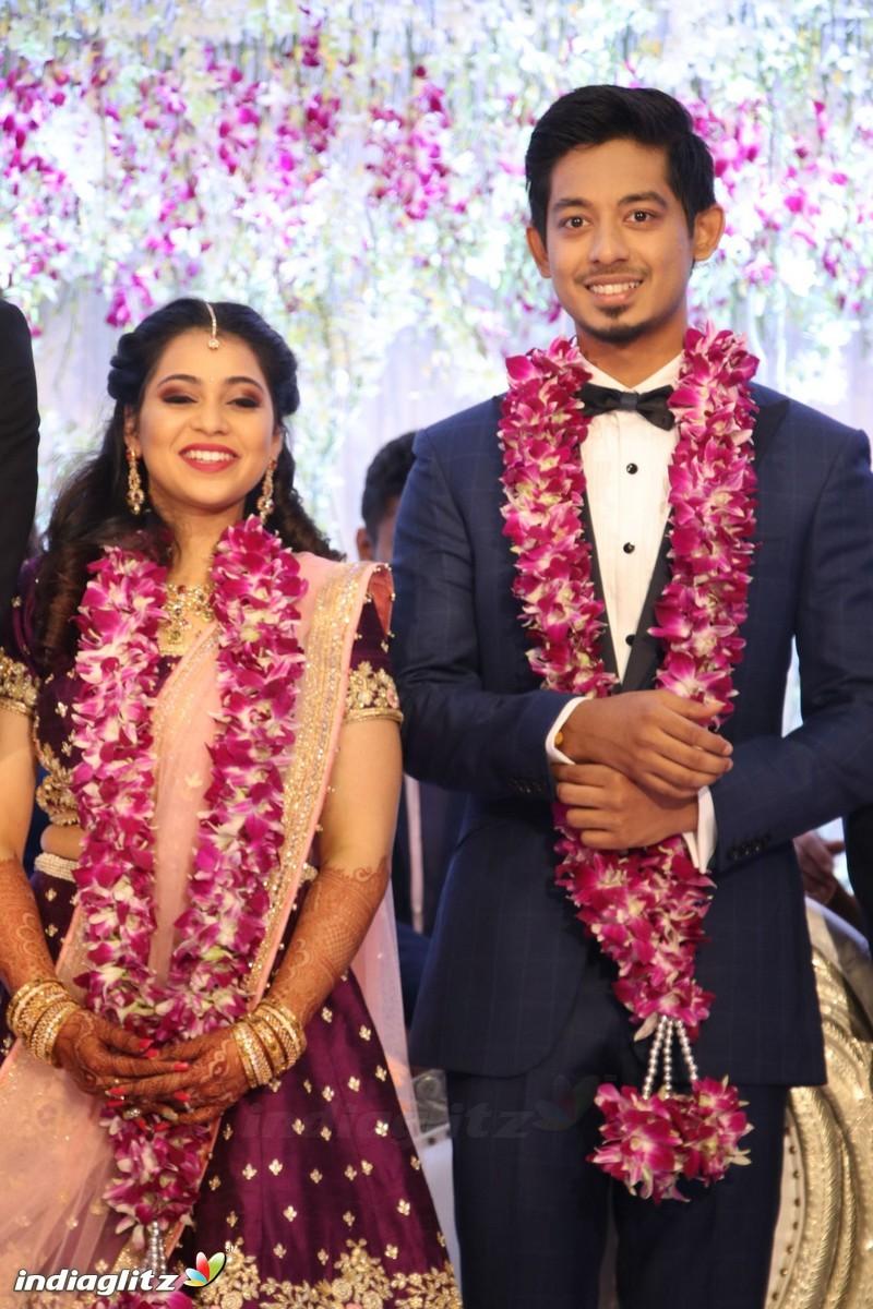 events vijay at vishals sister aishwarya wedding