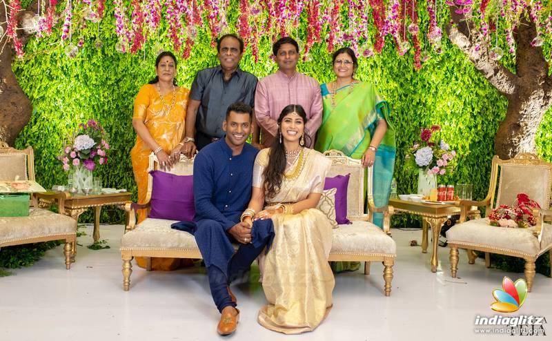 Vishal Anishaalla Engagement