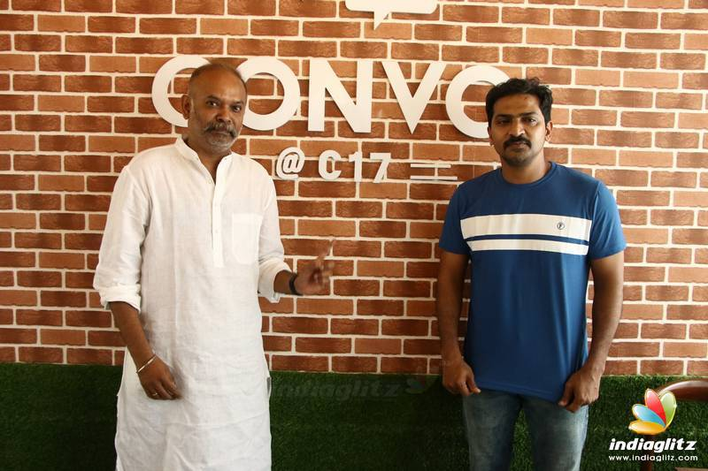 Venkat Prabhu at Varnamala Wedding Experience Center
