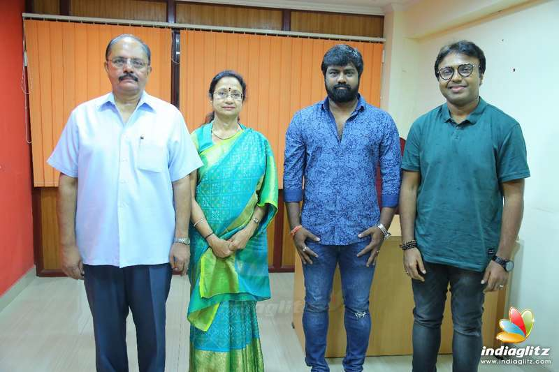 Vijay Sethupathi - Vijay Chander's New Movie Pooja