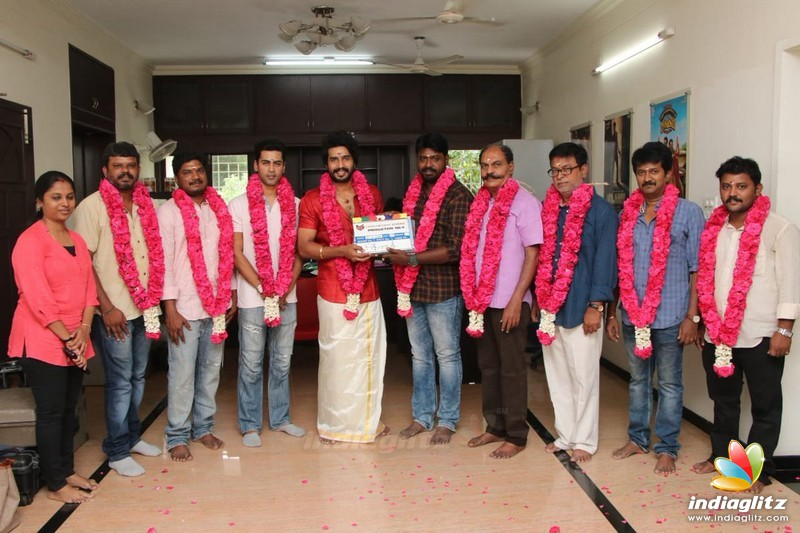 Vishnu Vishal's New Movie Pooja