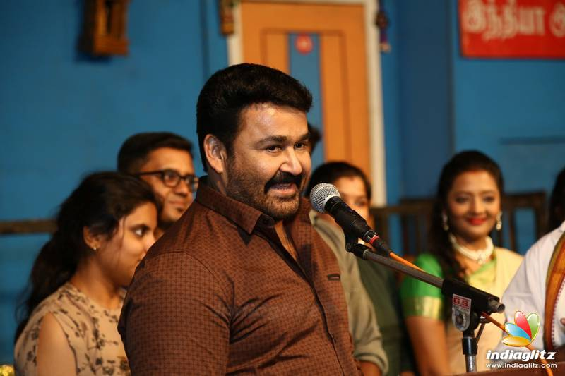 Mohanlal at YG Mahendran's 3Ji 100th Show Celebration