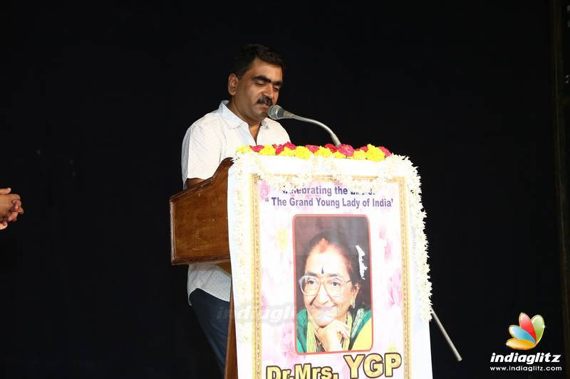 Tribute to Dr Mrs YGP