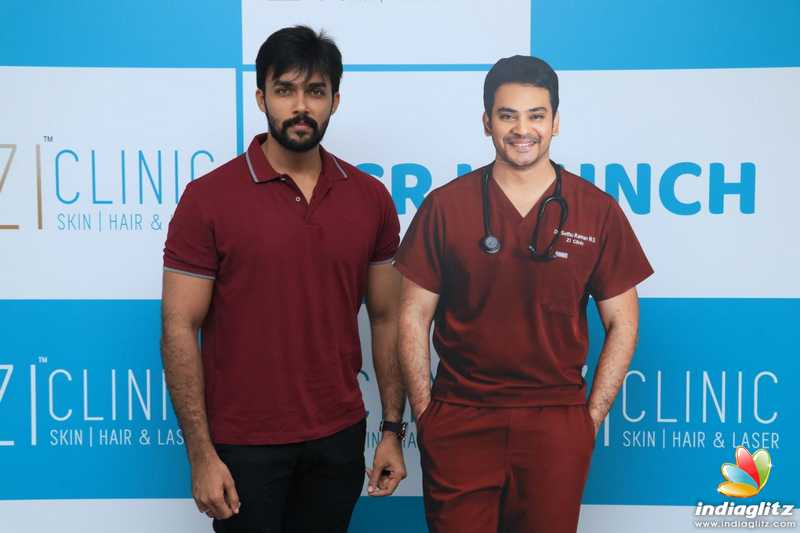 Santhanam Launches Zi Clinic ECR Branch