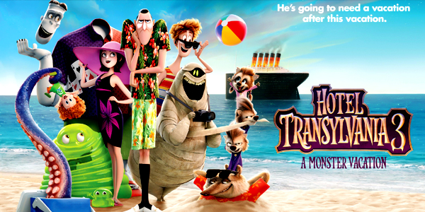 Image result for hotel transylvania 3 summer vacation
