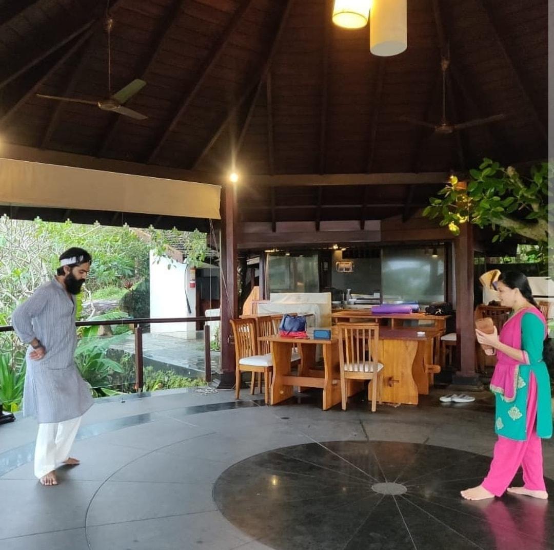 Simbu learns Bharatanatyam from this popular actress!