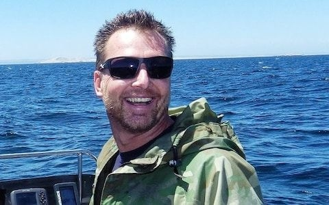 Rainer Schimpf 51 has worked as a dive tour operator in South Africa for over 15 years