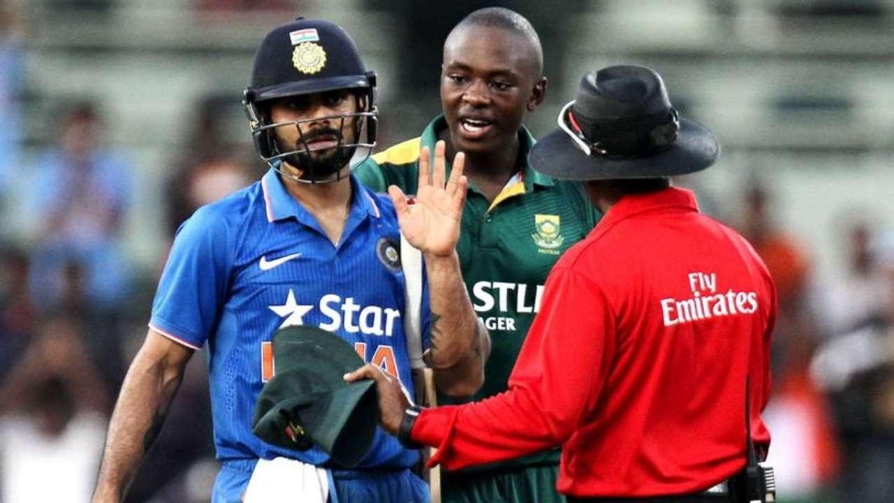 Kohli responds to Rabada's 'immature' remark on him