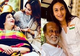 Aishwarya Dhanush's emotional message on Rajnikanth's 40th wedding anniversary!