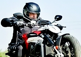 Thala Ajith's double mass look and unmatchable style in bike racing suit drives fans crazy
