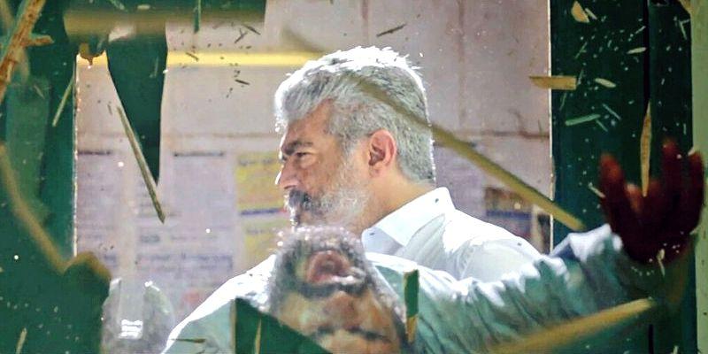 thala ajith s rocking viswasam motion poster puts fans on cloud nine hollywood news indiaglitz com indiaglitz