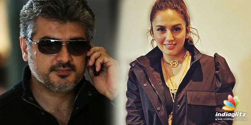 Huma Qureshi training hard to match Thala Ajith - pics