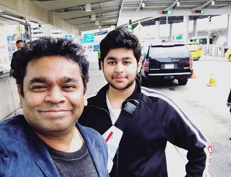 AR Rahman and Ameen's Birthday special photo turns viral! - Tamil News -  IndiaGlitz.com