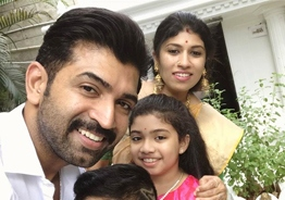 Purvi becomes a teenager - Adorable b'day wishes from Aarathi and Arun Vijay go viral