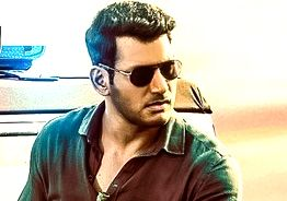 Vishal's new movie 'Ayogya' first look released