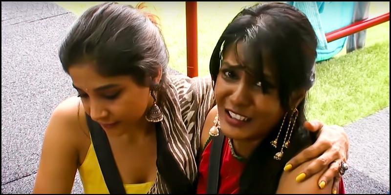 Meera Mithun cries, unable to handle Vanitha's torture - Tamil News
