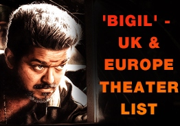 'Bigil' - UK & Europe Theater List