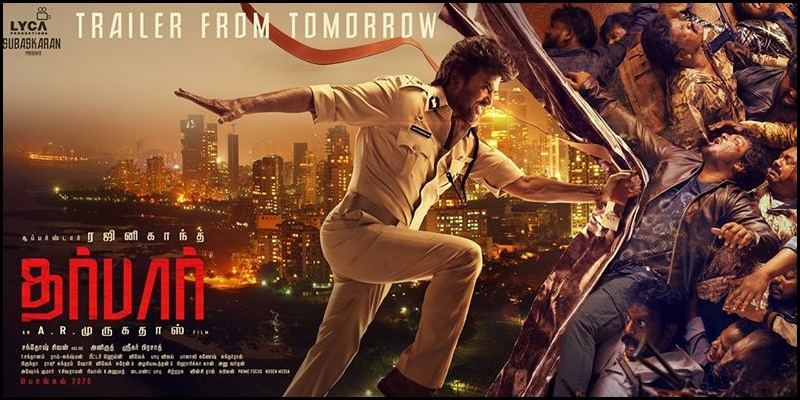 'Darbar' trailer: Rajinikanth is proud to be a bad cop