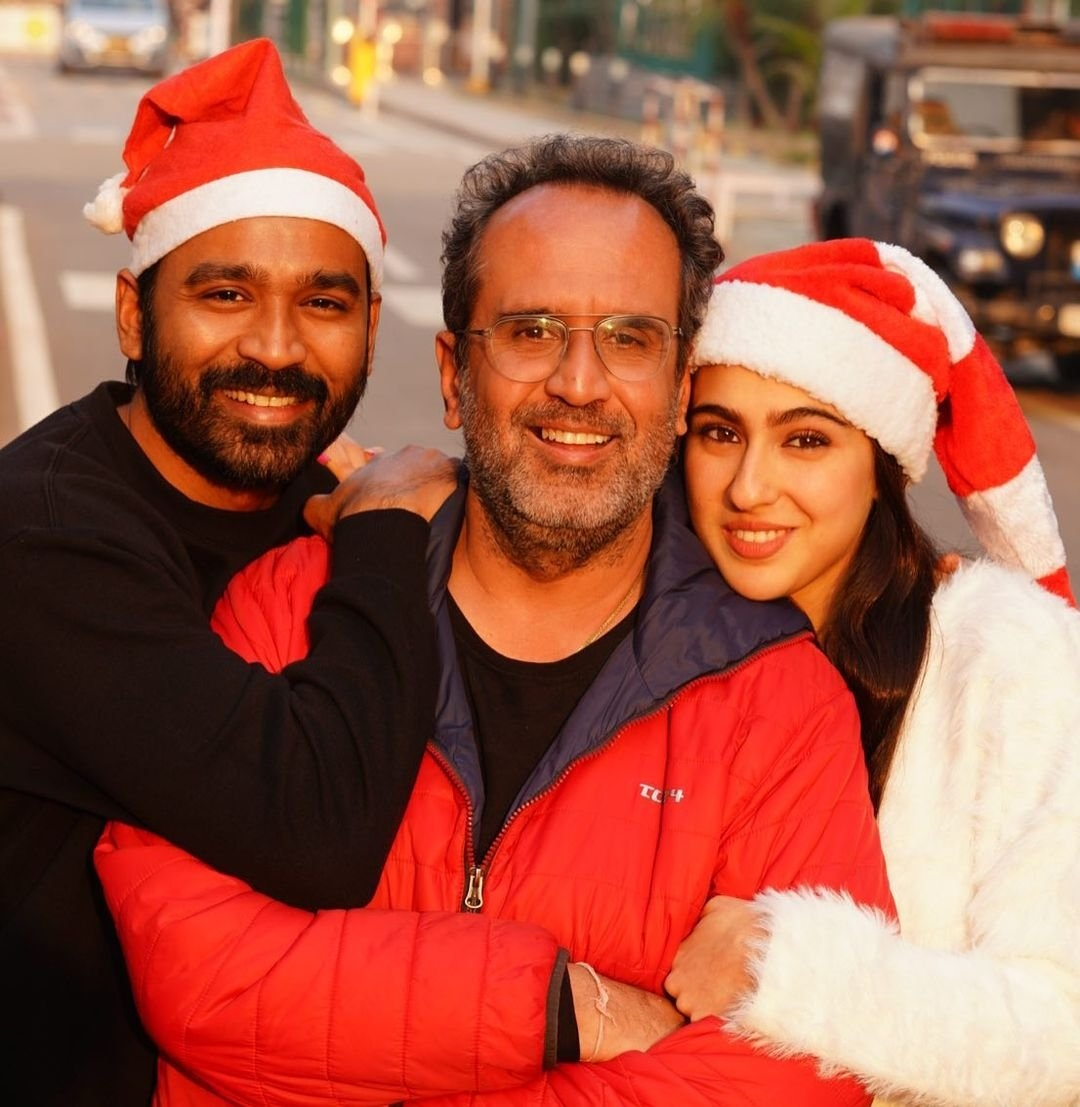 Dhanushs Christmas fun moments with Sara Ali Khan rocks internet!