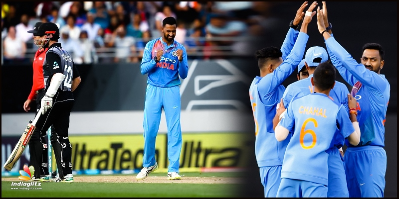 Krunal Pandya destroys Kiwis, as India win second T20!