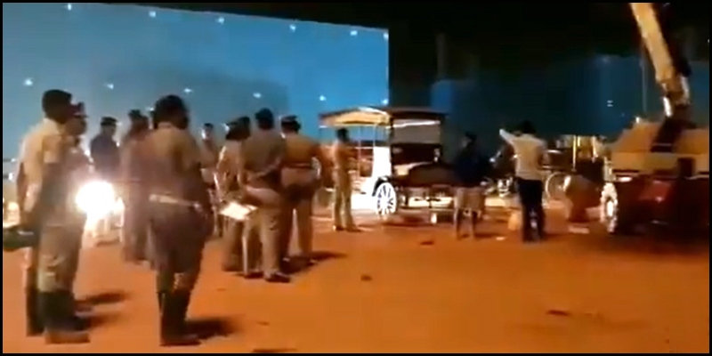 Crane crashes at Indian 2 shooting spot, 3 killed..