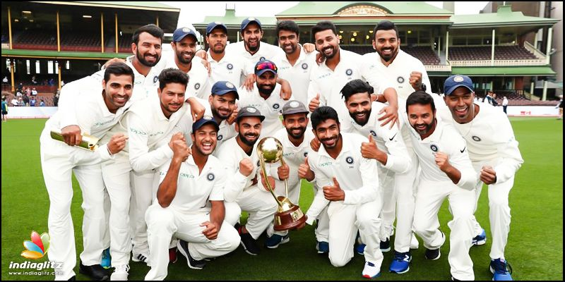 Anushka, Virat celebrate Team India's historic win
