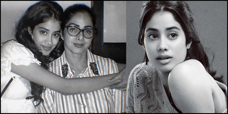 Janhvi Kapoor Turns Emotional Shares A Nostalgic Moment With Sridevi News Indiaglitz Com