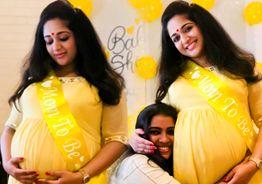 Kavya Madhavan gives birth