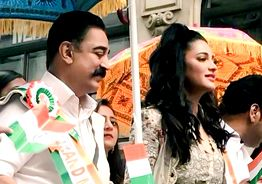 Kamal Haasan as Grand Marshal at India Day Parade