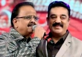 Kamal Haasan pays tribute to SPB on his first death anniversary