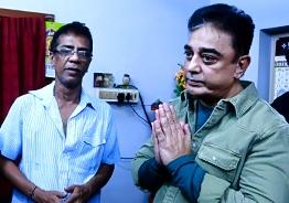 Kamal Haasan visits Subashri's house