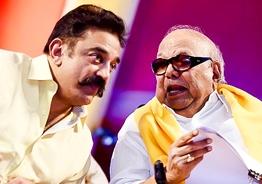 Kamal Haasan praises Karunanidhi's contribution to Tamil!