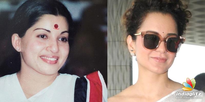 Kangana Ranaut is unrecognizable as Jayalalitha in the Thalaivi poster