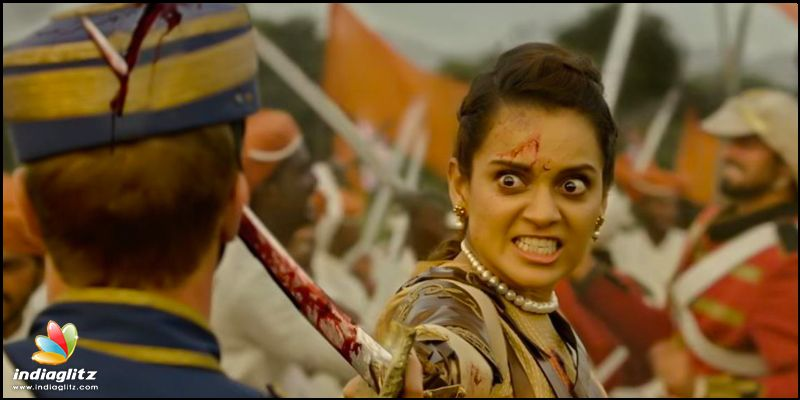 Kangana Ranaut Left Everyone Spell Bound in Manikarnika Trailer