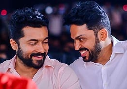 Suriya's special message after birth of brother Karthi's son