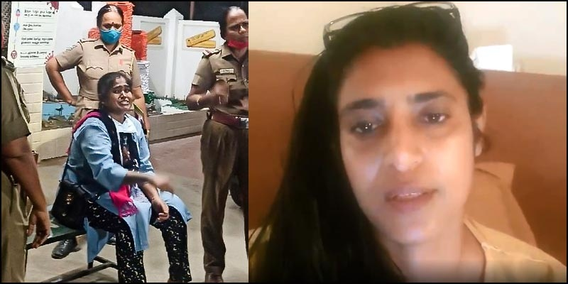 Kasthuri reacts to Vanitha's police complaint against her and ...