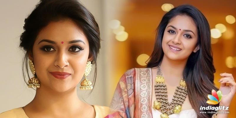 Did Keerthy Suresh reject young heros love proposal for her longtime lover?