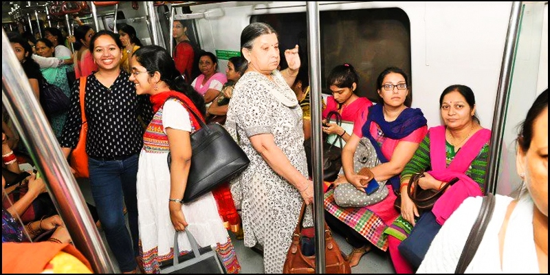 Arvind Kejriwal announces free metro, bus rides for women in Delhi