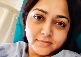 Khushbu hospitalized due to sudden illness