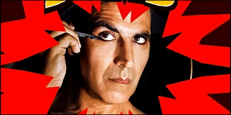 Laxmmi Bomb first look: Meet a fierce, sari-clad Akshay Kumar